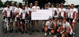 Enbridge Bicycle Challenge against cancer